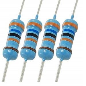 4W Watt 220 Ohm 220Ohm Metallschichtwiderstand 0,25 Watt 220R pc 100 Stücke 1