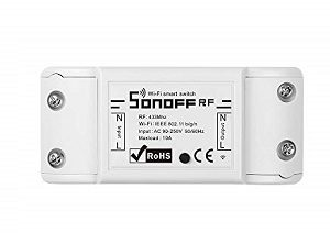 Sonoff 4 Channel Remote Ctrl Smart WiFI Switch Home